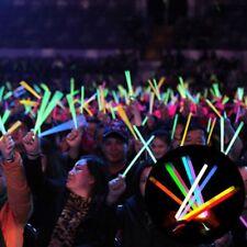 100x Neon Color Foam Glow Sticks Light Up Party Wedding Decro Necklace Bracelets