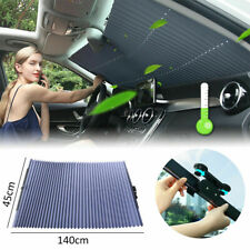 Retractable Car Windshield Sun Shade Curtain UV Protection Sun Visor Block Cover