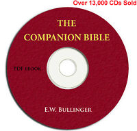 THE COMPANION BIBLE-E W Bullinger-Christian Scripture Commentary Study-CD Ebook