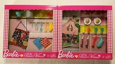 Barbie The Pioneer Woman Barbecue & Pasta Accessory Playset Mattel NIB New
