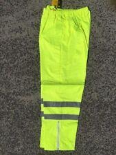 5 x rain pants bocini yellow with tape XXXL  WET WEATHER pants mens AU size XXXL