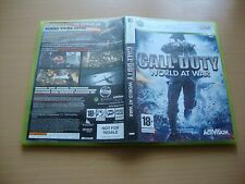CALL OF DUTY WORLD AT WAR DE ACTIVISION PARA LA XBOX360 EN BUEN ESTADO