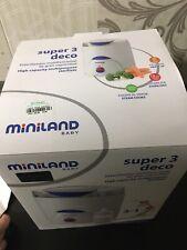 Esterilizador Eléctrico Biberones Calienta Biberones Miniland Baby 3 En 1 chicco