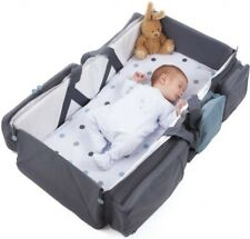 Travel Portable Bassinet 3 in 1 Diaper Bag Travel Baby Bed and Portable Changing