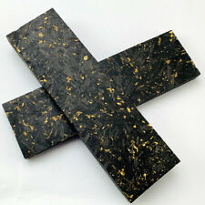 Decor Patch Yellow Marble 4mm / 9mm Carbon Fiber Patch Blade Tool for DIY Handle