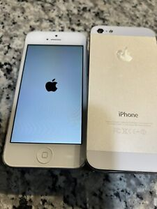 Apple Official iPhone 5 Used 4.0 Screen White Aluminum Smartphone Cellular