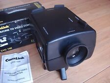 CAMLINK CVC-100 CINE / SLIDE 2 DIGITAL VIDEO projector 8mm super 8 TELECINE 4045