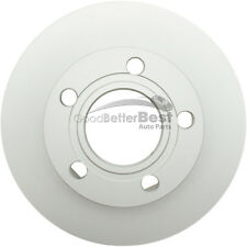 One New ATE Coated Disc Brake Rotor Rear 2411107224102 for Audi Volkswagen VW