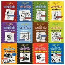 Diary of a Wimpy Kid Collection 12 Books Set The Getaway, Double Down,Old School