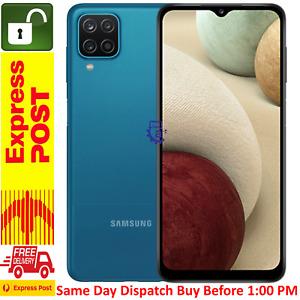Samsung Galaxy A12 ( 128GB/4GB, 48MP, 5000mAh)-Blue Free Express Post AU-STOCK
