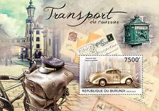 Postal Transport Couriers cars Royal Mail AUTOMOBILE Burundi Sc.1288 #BUR12723b