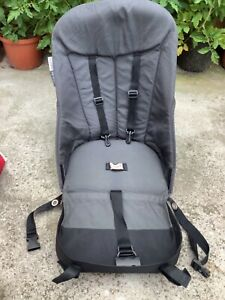 Bugaboo Cameleon 1 or 2 Charcoal Grey Seat Fabric