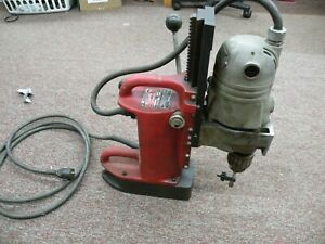 """Milwaukee 4201 Magnetic Base Drill Press w/ 4262-1 (3/4"""") Drill Motor"""
