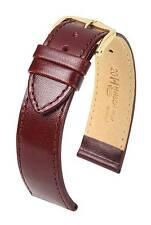 Hirsch Osiris 18 mm mid brown watch strap, L