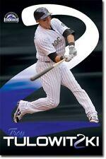 BASEBALL POSTER Troy Tulowitzki Colorado Rockies MLB