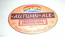 Teignworthy Autumn Ale Beer Pump Clip 17