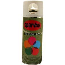 6 x  Kreidespray Weiß, Kreidefarbe, Markierungsspray, Sprühkreide,400 ml Dose