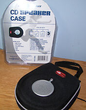 New Quality Portable Speaker Case for cds, mp3 player, ipod iphone PDA & Laptops