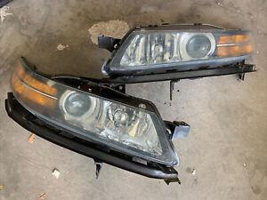 2004/2005/2006 Acura TL HID Xenon Headlights Right & Left Pair OEM