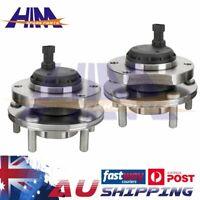 2x Front Wheel Bearing Hub for Holden Commodore Calais VT2 VX VU VY VZ V6 V8 ABS