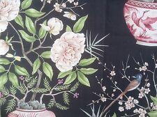 """Zoffany per tende in tessuto Remnant, """"ROMEY'S GARDEN"""" 65 cm di lunghezza x 95 cm Ebano"""