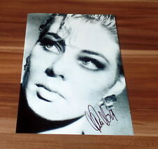 Sandra * maría magdalena *, original signed photo en 20x25 cm (8x10), rar