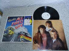 LP SMOKIE-all Fired Up! 1988 + OIS