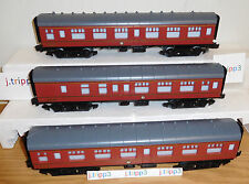 LIONEL 6-83620 HOGWARTS EXPRESS HARRY POTTER 3 PASSENGER CAR SET TRAIN O GAUGE