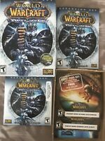 World Of Warcraft Wrath Of The Lich King Expansion Set Game DVD ROM