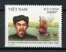 Vietnam 2018 MNH Nguyen Trung Truc 1v Set Historical Figures Boats Ships Stamps