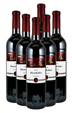 6 Fl. 2015 Dornfelder Rotwein lieblich Silber prämiert -Weingut Wachter-