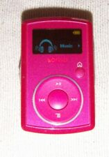 SanDisk Sansa Clip (2GB) Digital Media MP3 Player Pink. Works perfect