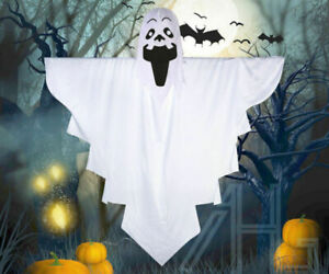 Cosplay Child Ghost White Sheet Scary Costume Halloween Kids Fancy Outfit