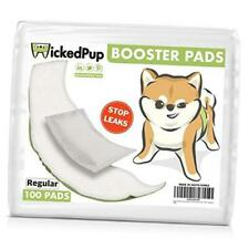 Dog Diaper Liners Booster Pads for Male and Female Dogs, 100ct | Regular