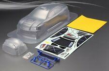 RC 1 10 EP Car 190mm Clear unpainted body shell SUBARU Rally WRX-9 fits Tamiya