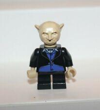 HP016 Lego Harry Potter Goblin Minifigure w// Torso Blue Pinstriped Gold Tie NEW