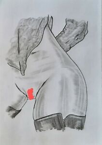*All NEW* anythingartwork NUDE ART Original Pencil Sketch/Drawing A4 Signed