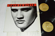 ELVIS PRESLEY This Is Elvis 2-LP CPL2-4031 Tan Labels Made in Canada VG/VG/VG