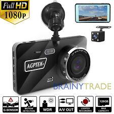 "4"" Vehicle Dash Cam FHD 1080P Car Dashboard DVR Camera Video Recorder G-Sensor"