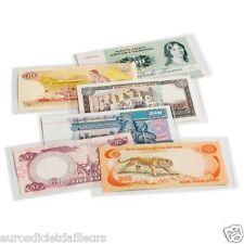 50 pochettes de protection BASIC 204 pour billets de banque - LEUCHTTURM