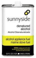 SUNNYSIDE 83432 Denatured Alcohol Solvent,1 qt.