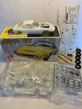 Vintage amt # T158 1/25 Opel GT Model Kit Complete Original Car Plastic