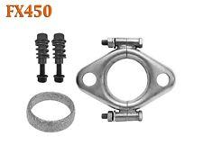 "FX450 2 1/4"" ID Exhaust Flange, Gasket & Spring Bolt Stud Nut Hardware Repair"