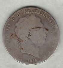 1819 LIX GEORGE III CROWN IN WELL USED CONDITION
