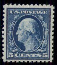US #504 5¢ blue, p. 11, og, VLH, XF
