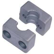 RSB brides de tube hydraulique - 32.0mm aluminium Od 1-tube moitiés groupe 3
