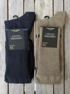 6 pack Nordstrom Mens Over the Calf Extra Fine Merino Wool Socks size 8-15