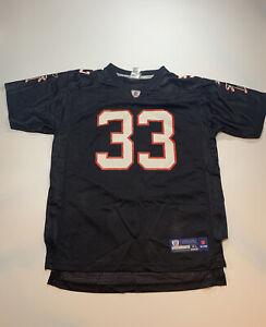 Reebok NFL Atlanta Falcons Football Boys Jersey Michael Turner Black Sz XL 18-20