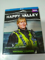 HAPPY VALLEY TEMPORADA 2 SARAH LANCASHIRE - 2 X BLU-RAY ESPAÑOL ENGLISH