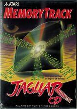 Memory Track for Jaguar CD (Atari Jaguar, 1995) with Box & Manual